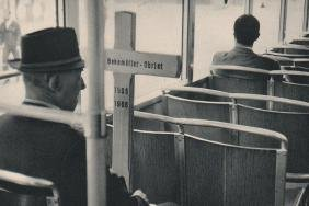 CARTIER-BRESSON: On the Tram, Zurich