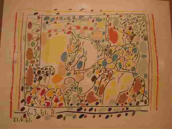 Pablo Picasso: Le Picador II