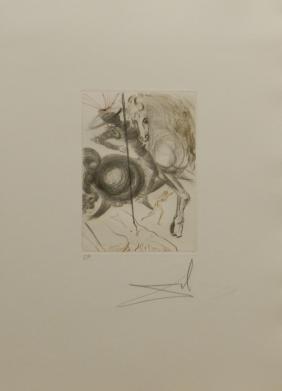 Salvador Dali: Le Decameron L'Enfer De Beautes Cruelles