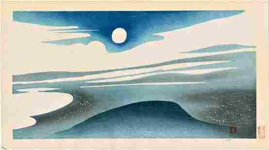 Inagaki Toshijiro: Evening Sky Blue Sea