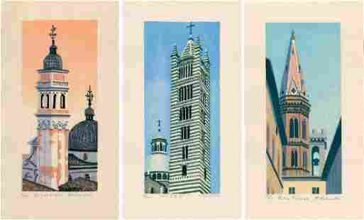 Kasamatsu Mihoko: Three Italian Church Towers