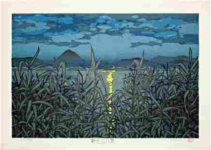 Katsuyuki Nishijima: Night on Lake Biwa