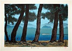 Katsuyuki Nishijima: Pines On Shore of Lake Biwa