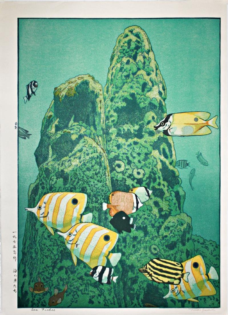 Yoshida Toshi: Sea Fishes