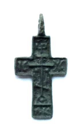 Russian Child Cross, 15-16th C