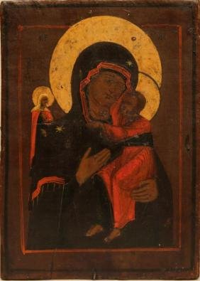 Our Lady Tolgskaya Russian Icon, 18th-19th C