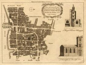 Bowen: Billingsgate & Bridge Ward Within Map, 1772