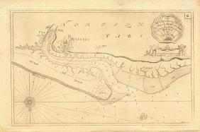 Collins: Blakeney Point Sea Chart, 1774