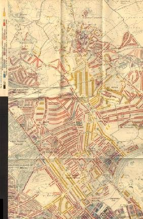 Booth Poverty Map: St John's Wood, 1902