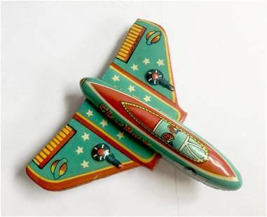 """Sky Ray"" Tin Airplane"