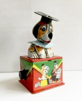Smart Dog Counting Wind Up Toy