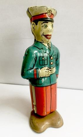 Soldier In Uniform Wind Up Toy