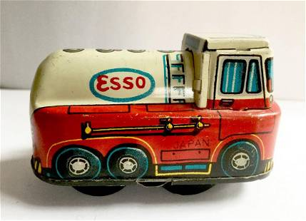 """""""ESSO"""" Delivery Truck Wind Up Toy"""