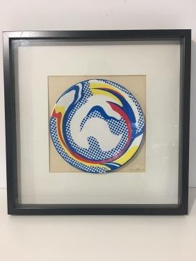 Roy Lichtenstein: Plate