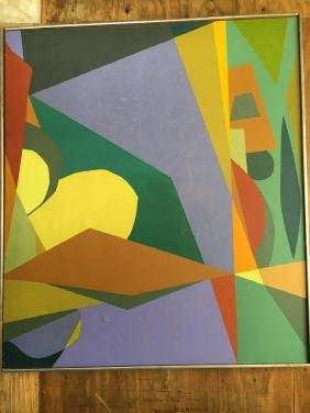 Betensky: Abstract Oil Painting