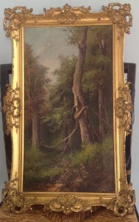 Francesco Capuano: Trees In The Forest, Signed