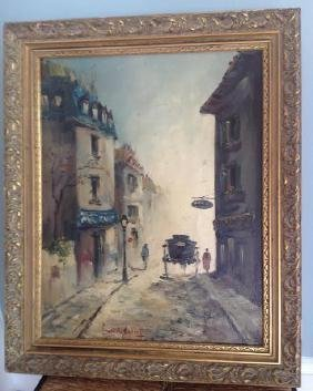 Ferdinandy Cahal: Oil Painting, Signed