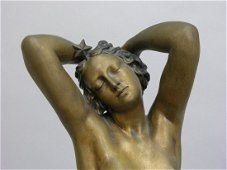 Collet Nocturne Bronze on Marble Base