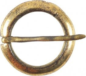 Ancient Viking Protective Brooch 10th Century