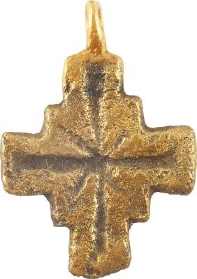 Ancient European Pilgrim's Cross 6th-9th Century