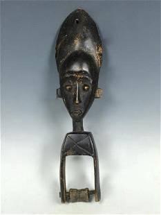 Vintage African Art Baule Pulley
