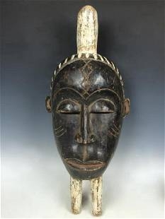 African Art Bacongo Ceremonial Mask from D.R.Congo