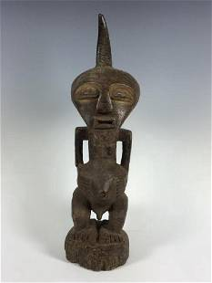 Vintage African Art Songye Statue from D.R.Congo