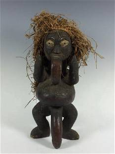 African Art Bamileke Statue from Cameroon