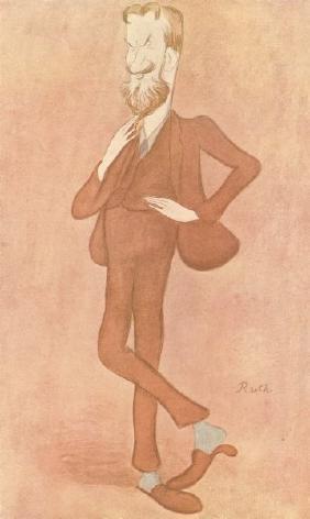 George Bernard Shaw Magnetic 1905 Vanity Fair