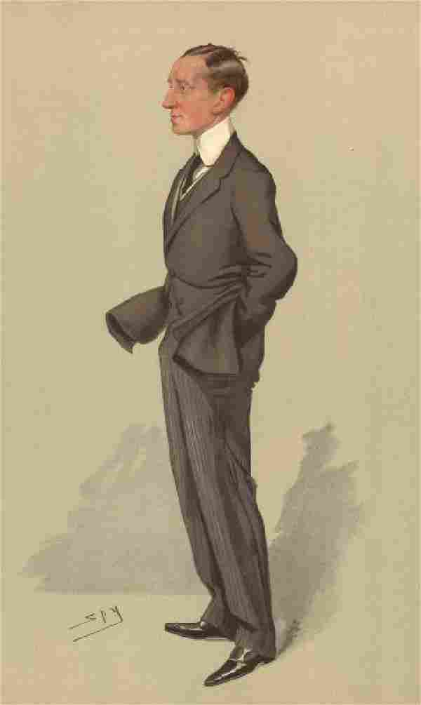 Sig G Marconi 'Wires without Wires' 1905 Vanity Fair
