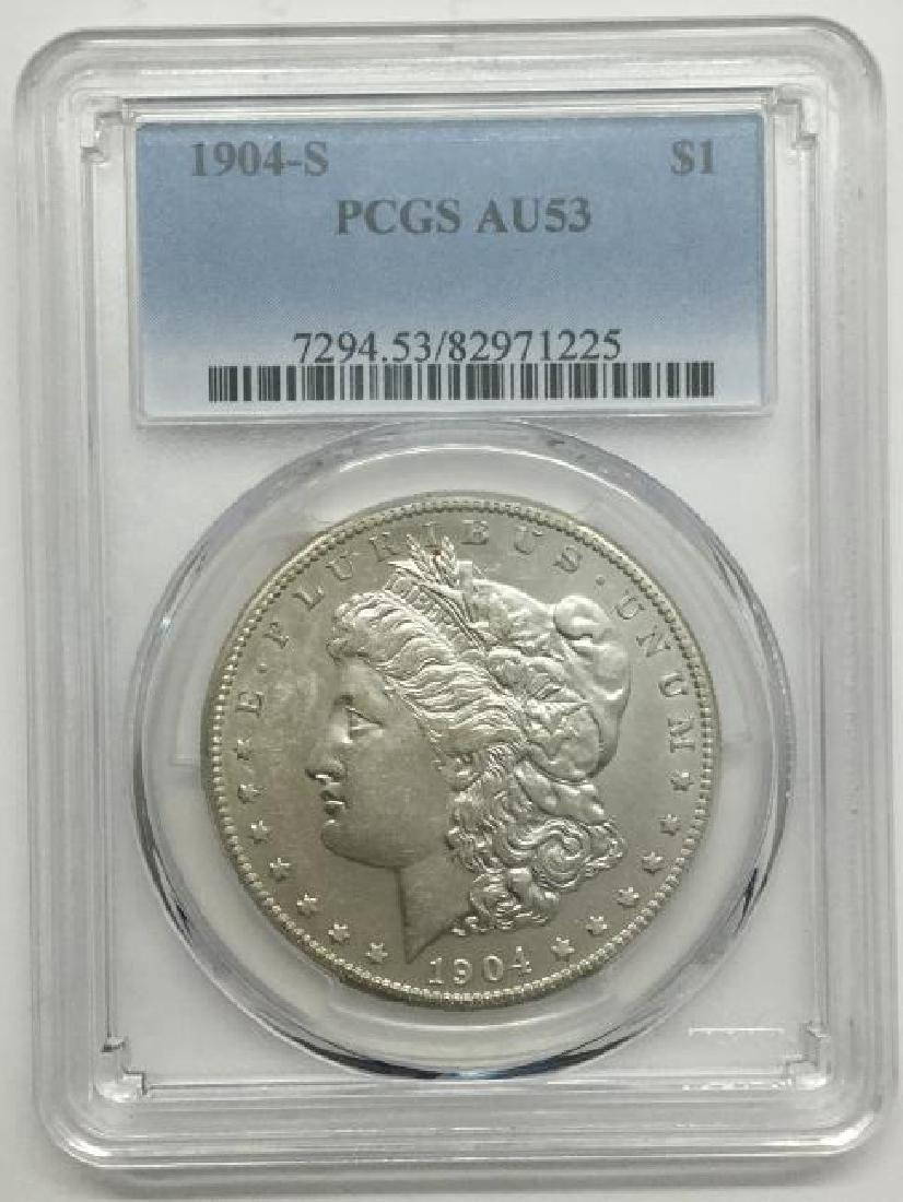 1904 Morgan $1 Rare Coin