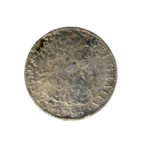 1794 Eigth Reales American First Silver Dollar Coin
