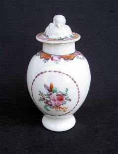 Chinese Qianlong Small Famille Rose Pot