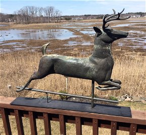 Leaping Stag Weathervane