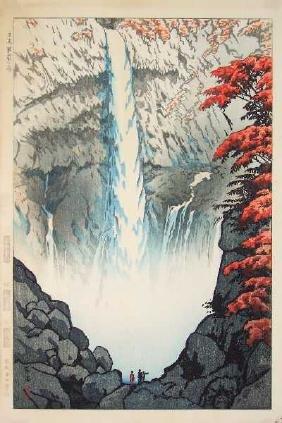 Kasamatsu Shiro: Kegon Falls First Edition+Bonus Print