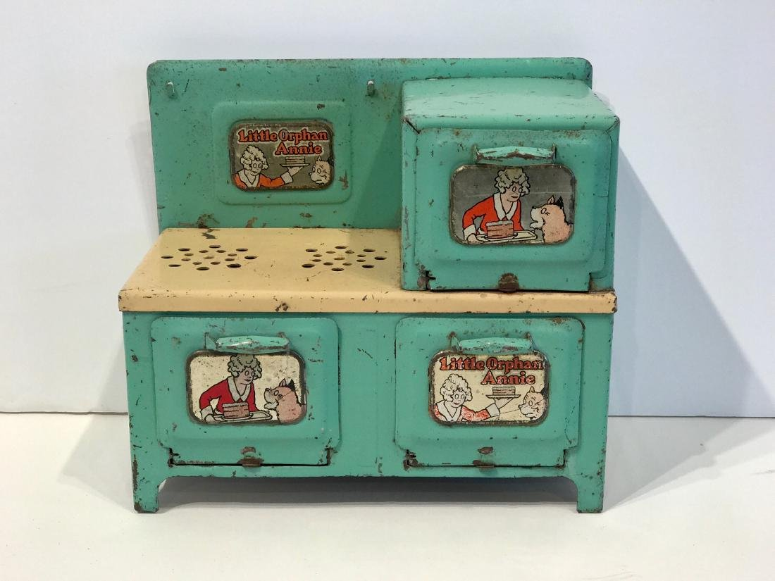 Orphan Annie Toy Stove