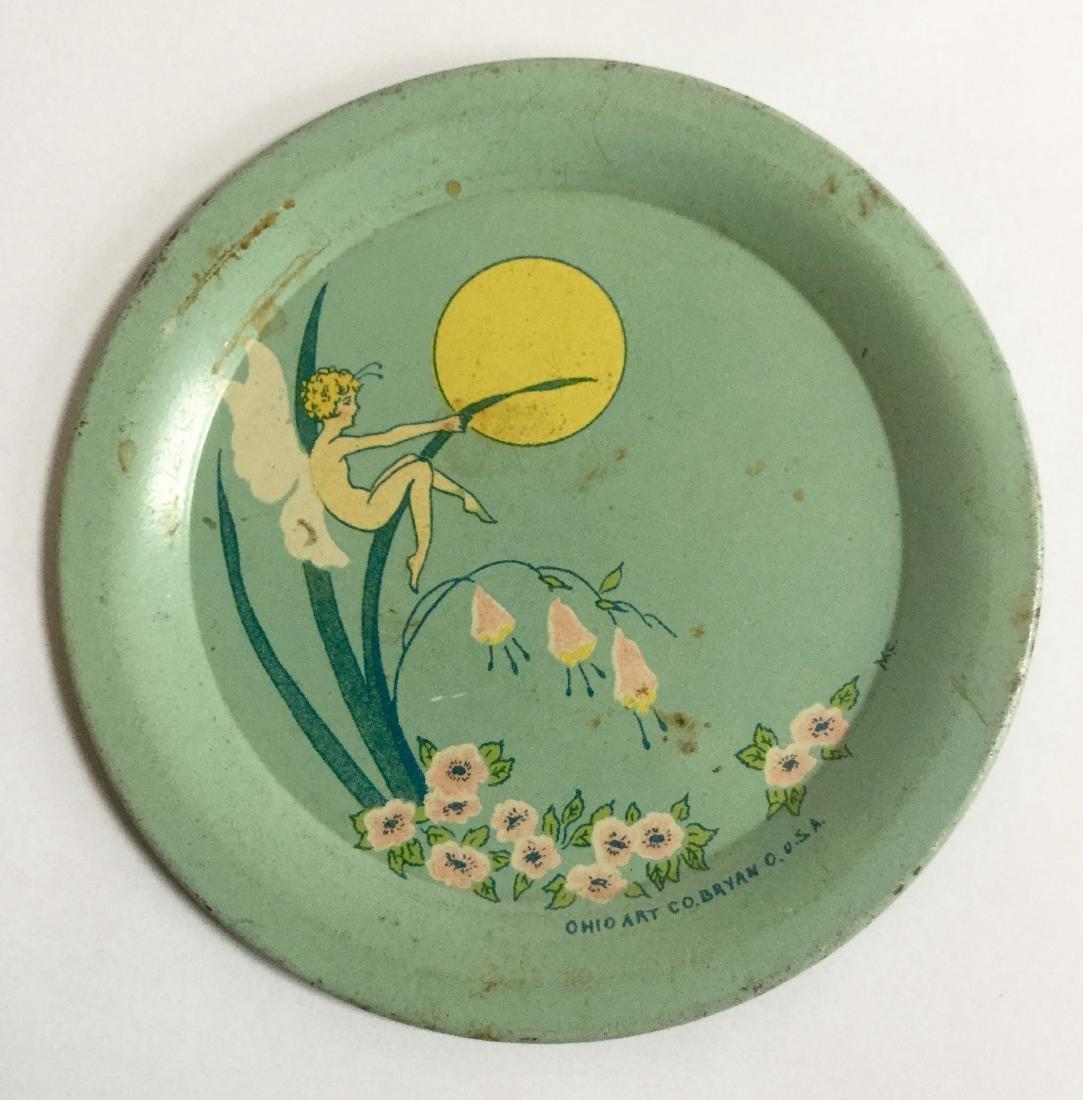 Ohio Art Tin Toy Plate