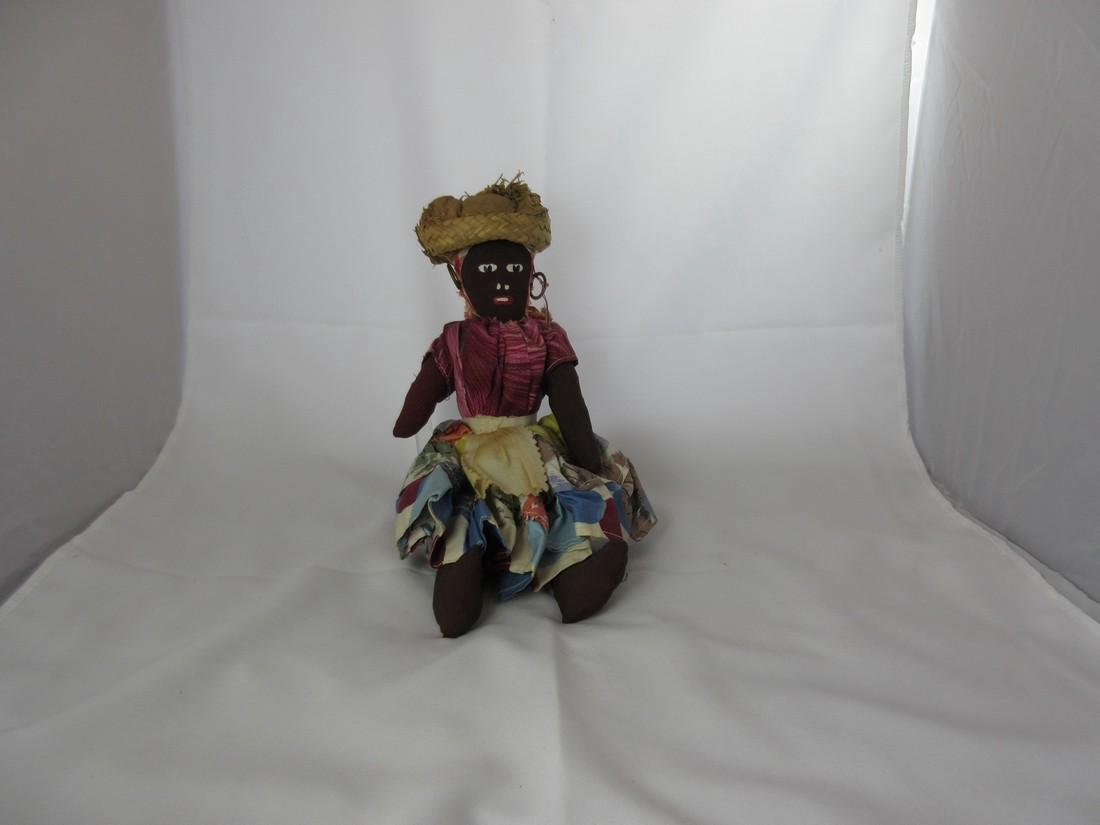 Folk Art Caribbean Doll