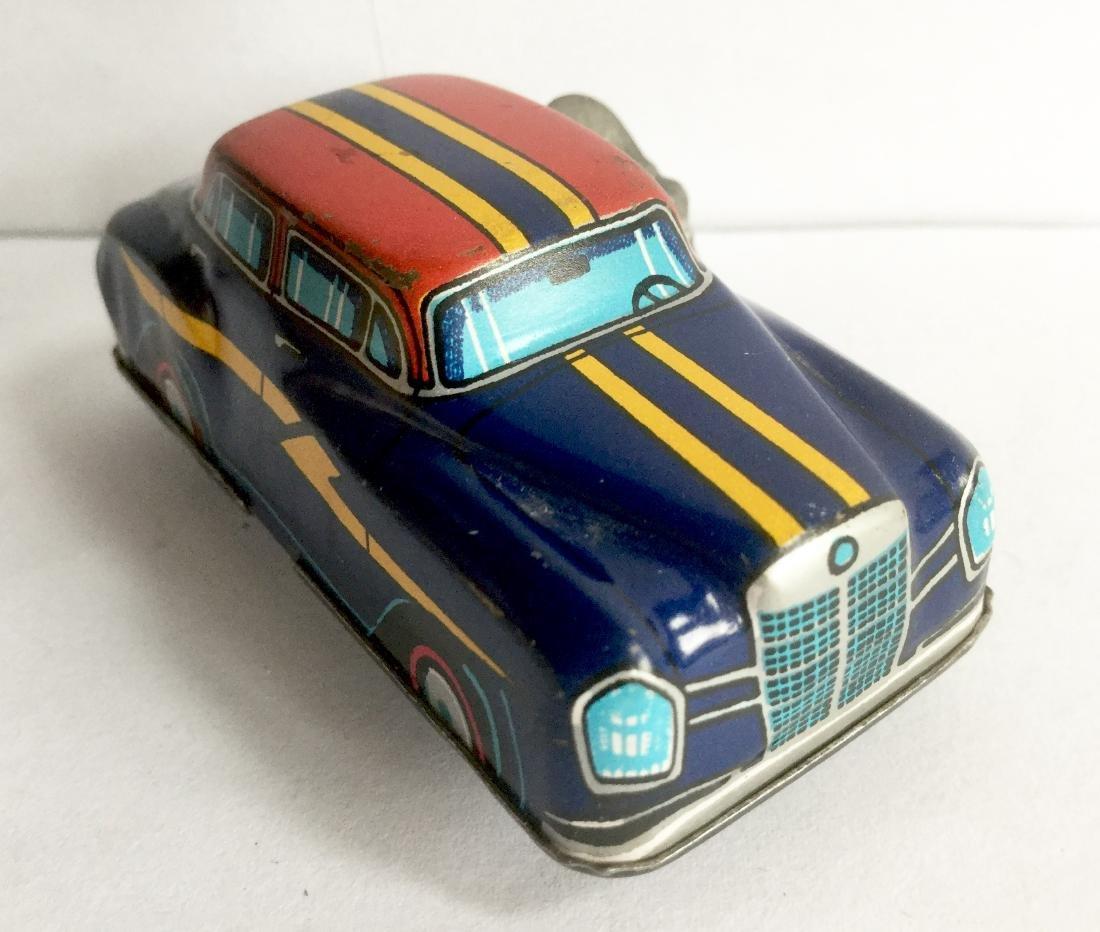 """Lightning"" Car Tin Wind Up Toy"