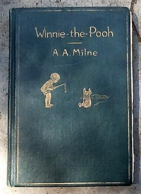 1926 1st Edition Winnie The Pooh Book By A.A. Milne
