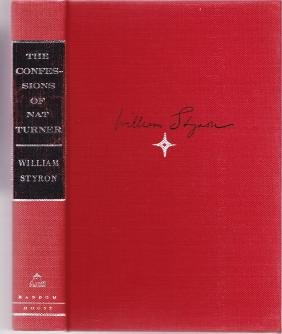 The Confessions Of Nat Turner William 1967 Styron