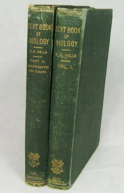 Text-book Of Biology By H. G. Wells 1893
