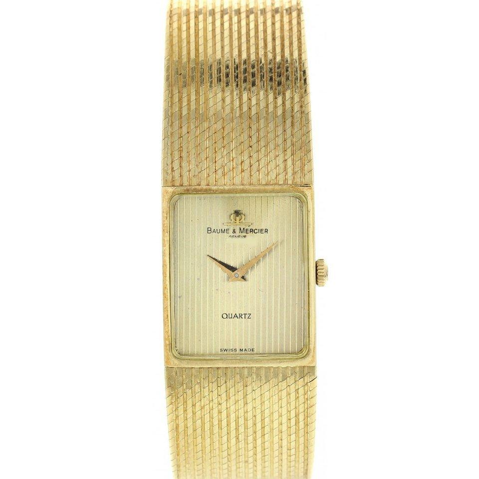 BAUME & MERCIER | Vintage 18K Gold Quartz