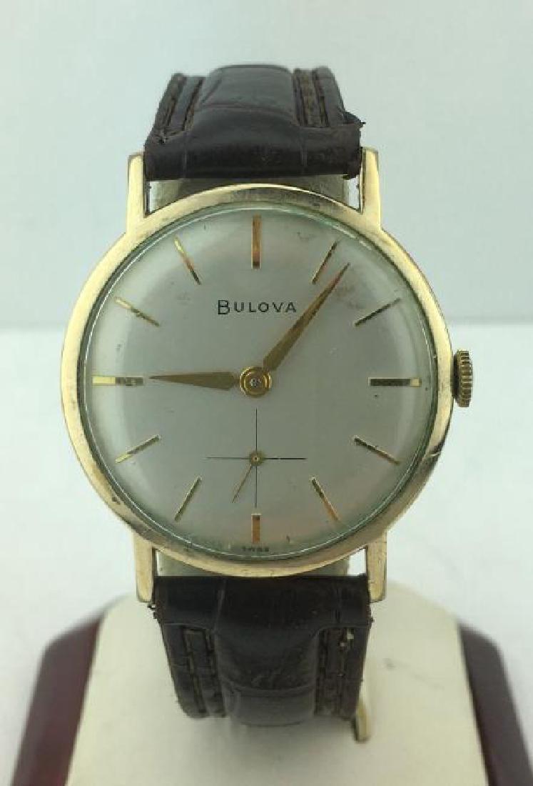 BULOVA | M3 Watch 10kRGP Bezel