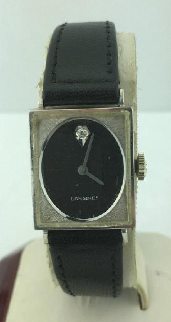 LONGINES | Vintage 10k Gold Diamond Ladies Watch