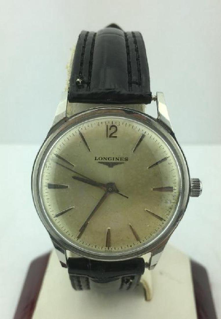 LONGINES | Vintage Stainless Steel Watch