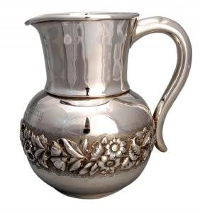 P. L Krider American Sterling Silver Pitcher