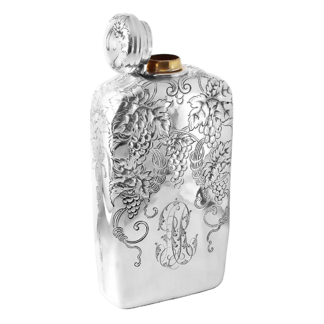 Tiffany & Co Sterling Silver Brandy Flask - 2