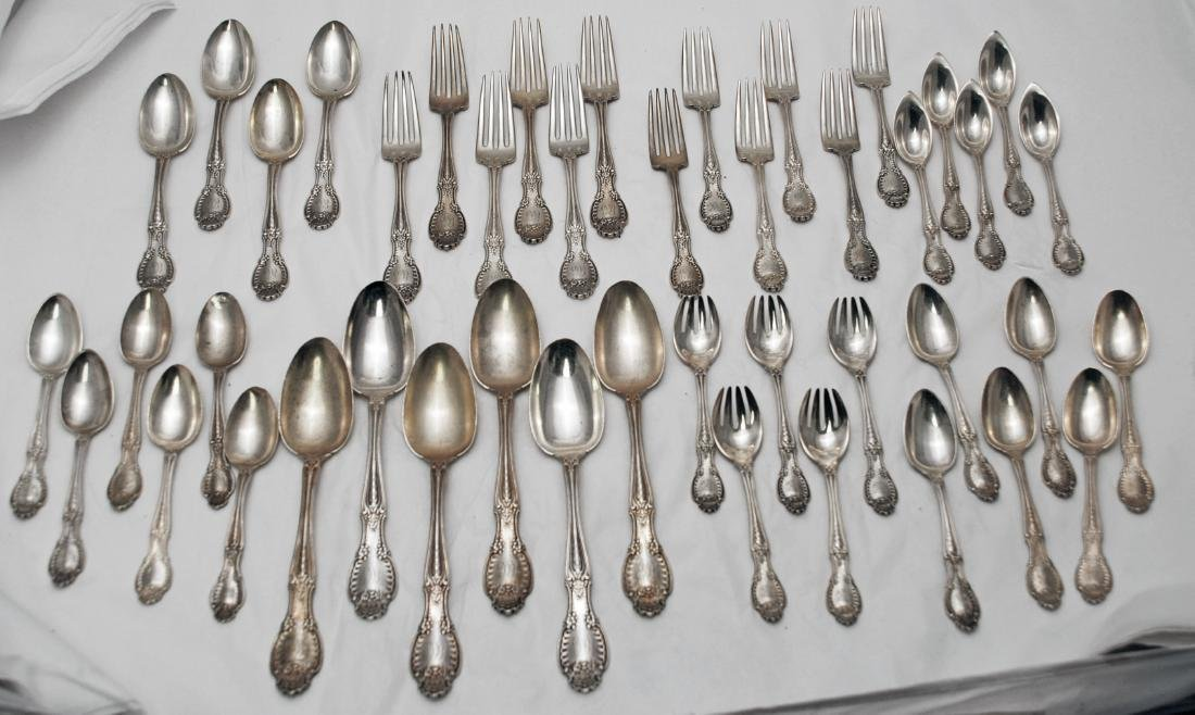 Tiffany & Co. Sterling Silver Richelieu Flatware Set