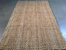 Solid Hand Made Natural Jute Rug 3.6x5.6